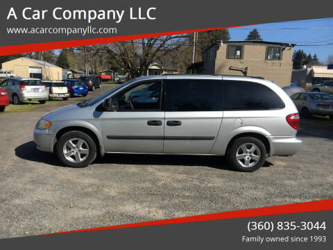 2005 Dodge Grand Caravan for sale at A Car Company LLC in Washougal WA