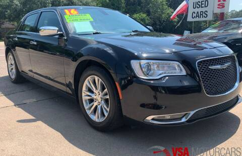 2016 Chrysler 300 for sale at VSA MotorCars in Cypress TX