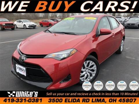 2018 Toyota Corolla for sale at White's Honda Toyota of Lima in Lima OH
