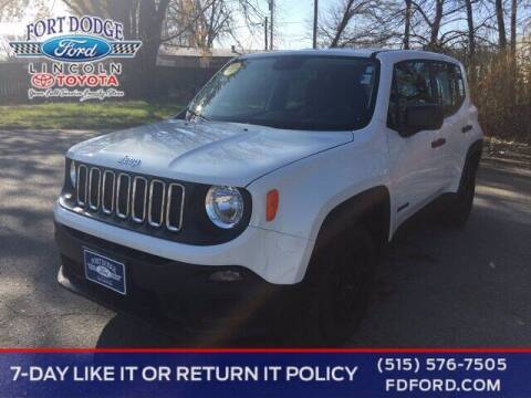 2017 Jeep Renegade for sale at Fort Dodge Ford Lincoln Toyota in Fort Dodge IA