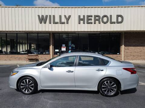 2017 Nissan Altima for sale at Willy Herold Automotive in Columbus GA