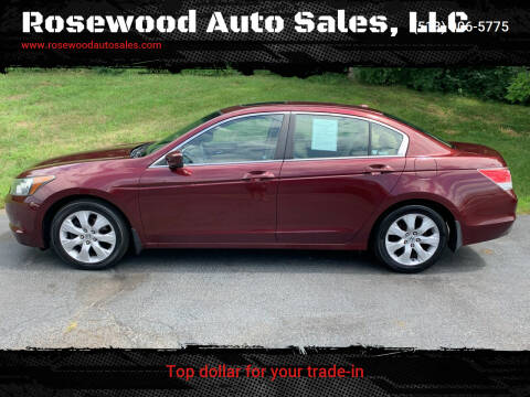 2010 Honda Accord for sale at Rosewood Auto Sales, LLC in Hamilton OH