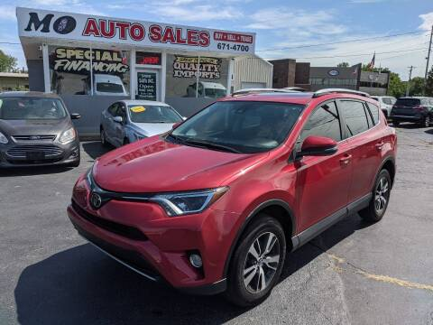 2017 Toyota RAV4 for sale at Mo Auto Sales in Fairfield OH