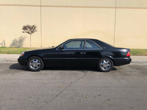 1999 Mercedes-Benz CL-Class for sale at HIGH-LINE MOTOR SPORTS in Brea CA