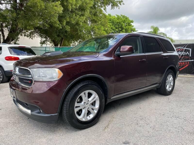 2012 Dodge Durango for sale at Florida Automobile Outlet in Miami FL