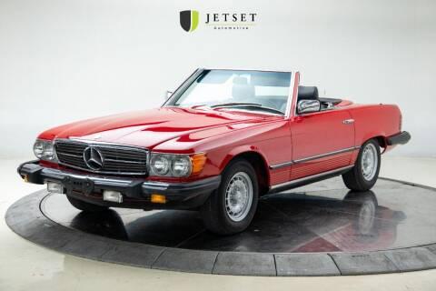 1985 Mercedes-Benz 380-Class for sale at Jetset Automotive in Cedar Rapids IA