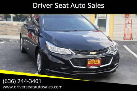 2017 Chevrolet Cruze for sale at Driver Seat Auto Sales in Saint Charles MO