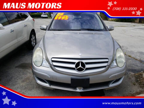 2006 Mercedes-Benz R-Class for sale at MAUS MOTORS in Hazel Crest IL