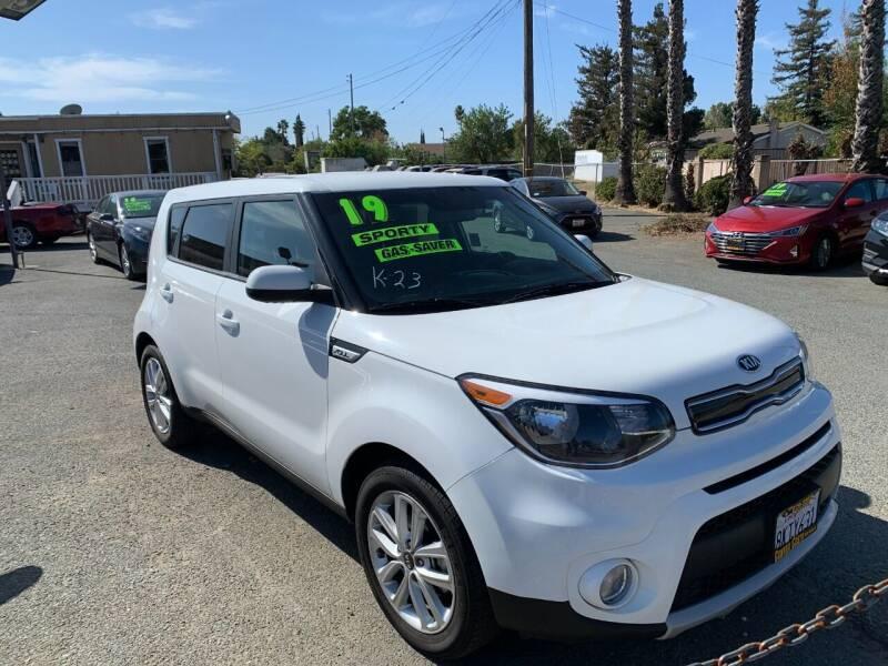 2019 Kia Soul for sale at Contra Costa Auto Sales in Oakley CA