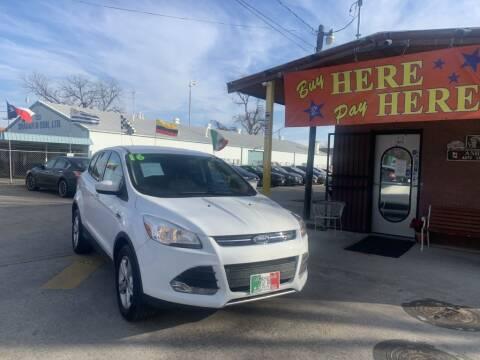 2016 Ford Escape for sale at ASHE AUTO SALES, LLC. - ASHE AUTO SALES in Dallas TX