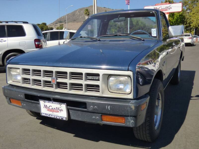 1986 Isuzu Pickup for sale at McCarthy Wholesale in San Luis Obispo CA