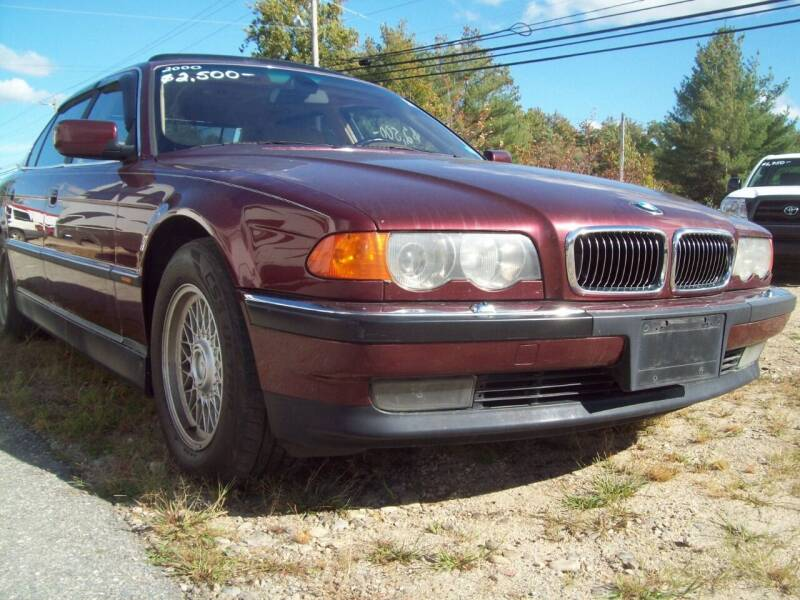 2000 BMW 7 Series for sale at Frank Coffey in Milford NH
