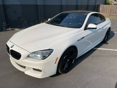 2015 BMW 6 Series for sale at APX Auto Brokers in Lynnwood WA