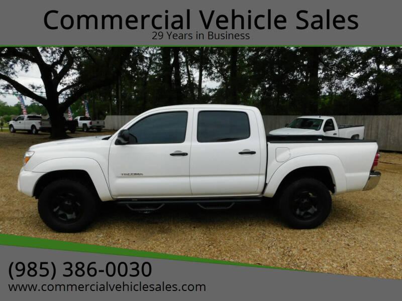 2014 Toyota Tacoma for sale at Commercial Vehicle Sales in Ponchatoula LA
