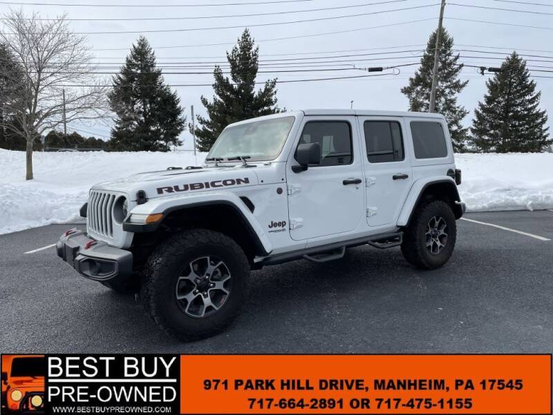 2019 Jeep Wrangler Unlimited for sale at Best Buy Pre-Owned in Manheim PA