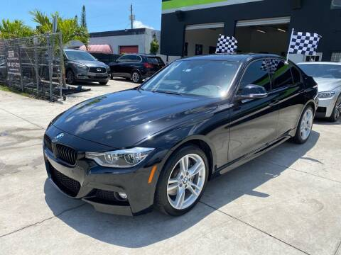 2018 BMW 3 Series for sale at GCR MOTORSPORTS in Hollywood FL