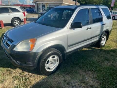 2003 Honda CR-V for sale at Texas Select Autos LLC in Mckinney TX