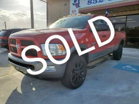 2012 RAM Ram Pickup 2500 for sale at TEXAS AUTOMOBILE in Houston TX
