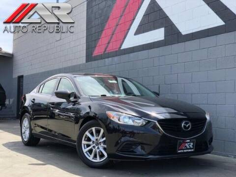 2016 Mazda MAZDA6 for sale at Auto Republic Fullerton in Fullerton CA