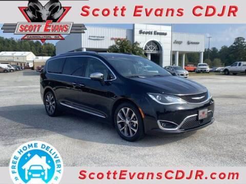 2017 Chrysler Pacifica for sale at SCOTT EVANS CHRYSLER DODGE in Carrollton GA