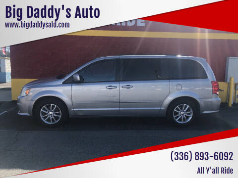 2014 Dodge Grand Caravan for sale at Big Daddy's Auto in Winston-Salem NC
