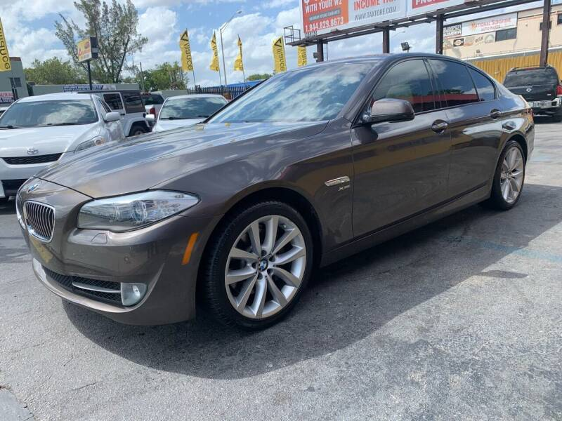 2011 BMW 5 Series for sale at AUTO ALLIANCE LLC in Miami FL