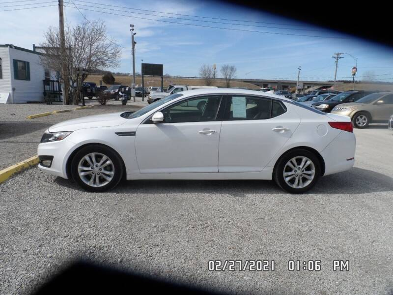 2012 Kia Optima for sale at Town and Country Motors in Warsaw MO