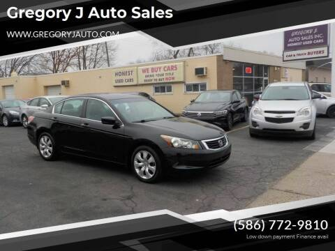 2009 Honda Accord for sale at Gregory J Auto Sales in Roseville MI