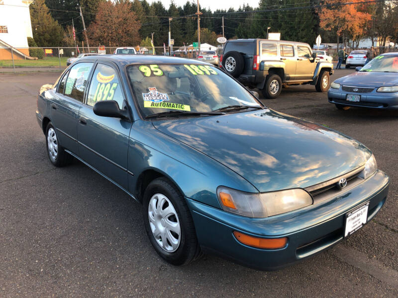 1995 Toyota Corolla for sale at Freeborn Motors in Lafayette, OR