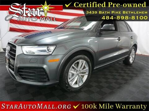 2018 Audi Q3 for sale at STAR AUTO MALL 512 in Bethlehem PA