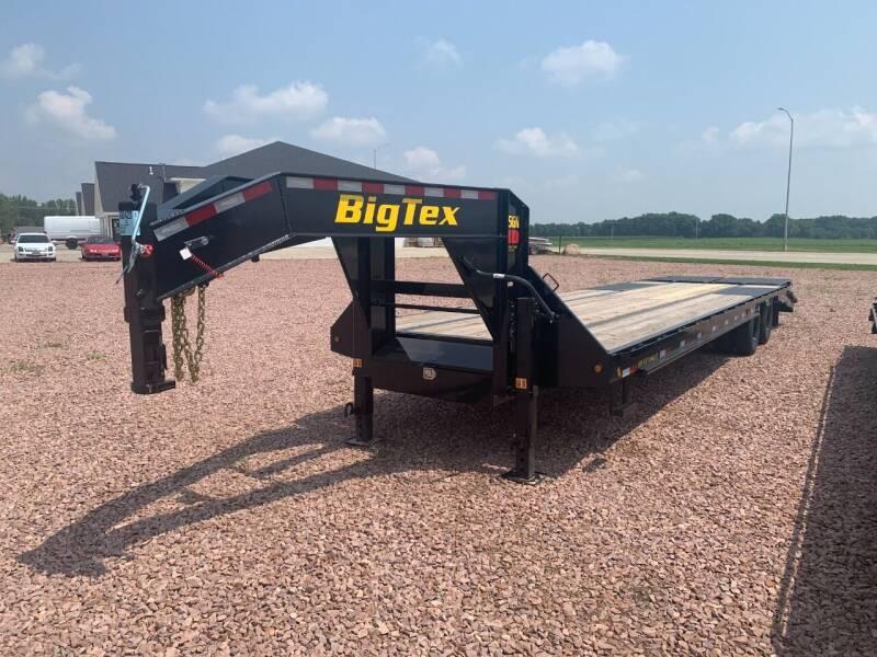 2022 Big Tex 25GN 28+5 #0423 for sale at Prairie Wind Trailers, LLC in Harrisburg SD