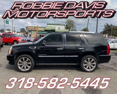 2007 Cadillac Escalade for sale at Robbie Davis Motorsports in Monroe LA