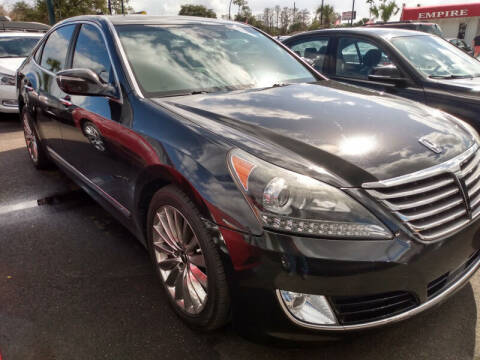 2014 Hyundai Equus for sale at Empire Automotive Group Inc. in Orlando FL