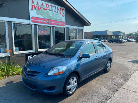 2007 Toyota Yaris for sale at Martins Auto Sales in Shelbyville KY