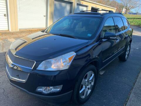 2011 Chevrolet Traverse for sale at ATLANTA AUTO WAY in Duluth GA
