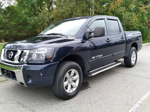 2009 Nissan Titan for sale at Jan Auto Sales LLC in Parsippany NJ
