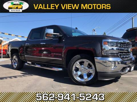 2016 Chevrolet Silverado 1500 for sale at Valley View Motors in Whittier CA