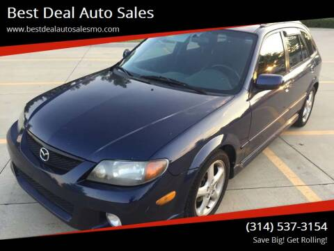 2002 Mazda Protege5 for sale at Best Deal Auto Sales in Saint Charles MO