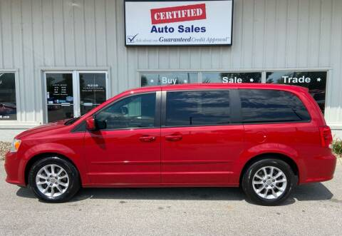 2012 Dodge Grand Caravan for sale at Certified Auto Sales in Des Moines IA