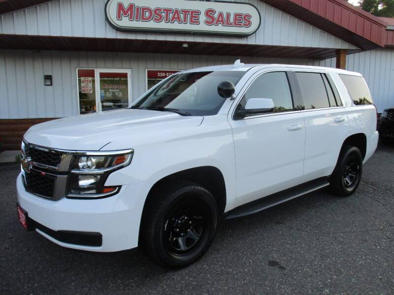 2015 Chevrolet Tahoe for sale at Midstate Sales in Foley MN