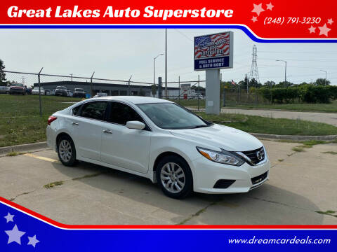 2017 Nissan Altima for sale at Great Lakes Auto Superstore 2 in Waterford MI