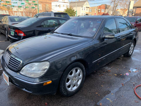 2001 Mercedes-Benz S-Class for sale at Barnes Auto Group in Chicago IL
