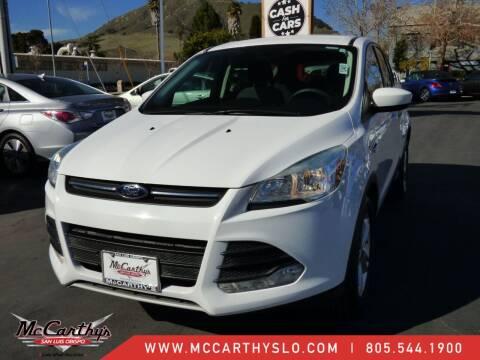 2015 Ford Escape for sale at McCarthy Wholesale in San Luis Obispo CA