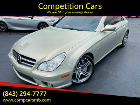 2009 Mercedes-Benz CLS for sale at Competition Cars in Myrtle Beach SC