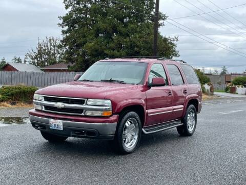 2004 Chevrolet Tahoe for sale at Baboor Auto Sales in Lakewood WA