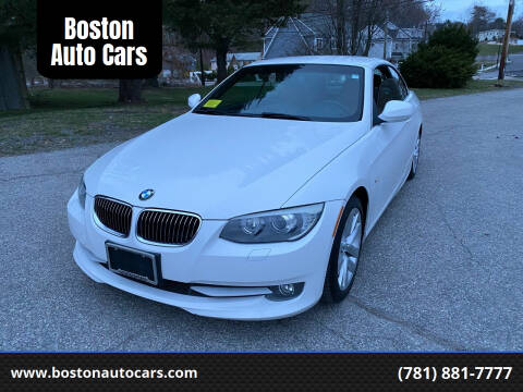 2011 BMW 3 Series for sale at Boston Auto Cars in Dedham MA