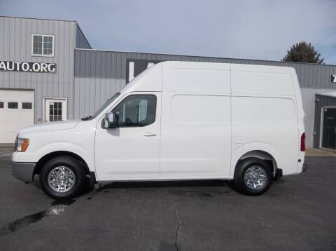 2019 Nissan NV Cargo for sale at Lampe Auto Sales in Merrill IA