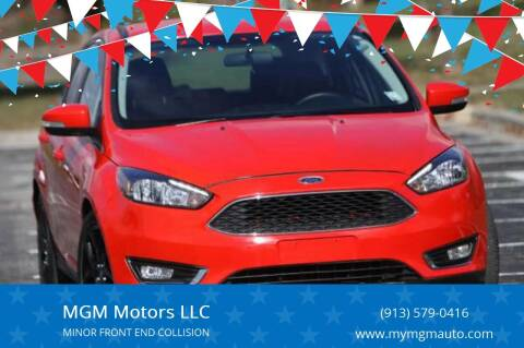 2016 Ford Focus for sale at MGM Motors LLC in De Soto KS
