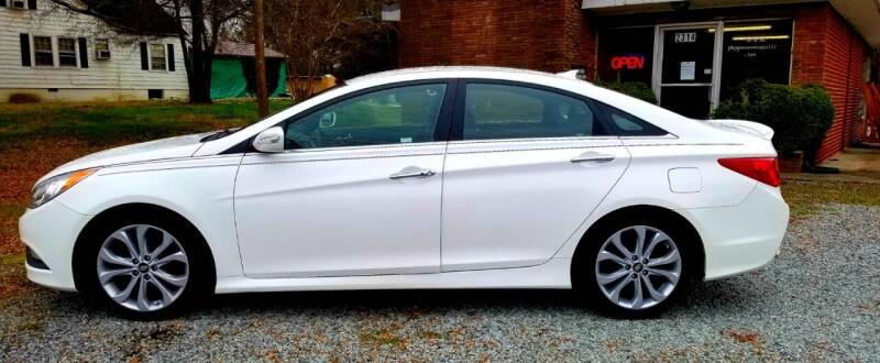 2014 Hyundai Sonata for sale at Progress Auto Sales in Durham NC