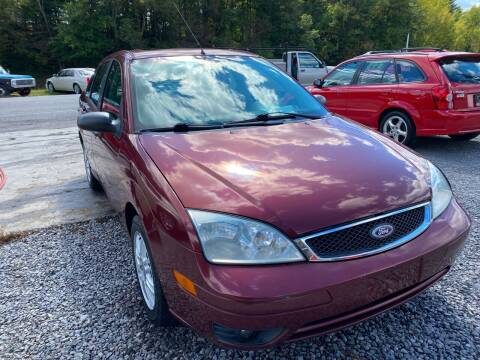 2006 Ford Focus for sale at Rocket Center Auto Sales in Mount Carmel TN